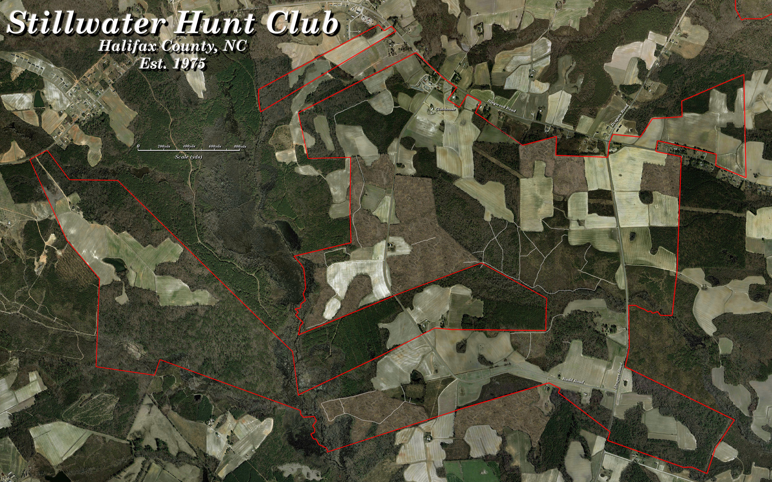 Stillwater Hunt Club - Main Farm Map